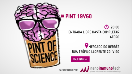 NANOIMMUNOTECH SPONSORS THE PINT OF SCIENCE 2019